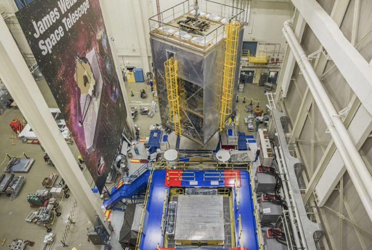 Data acquisition-NASA-JWST-space-telescope
