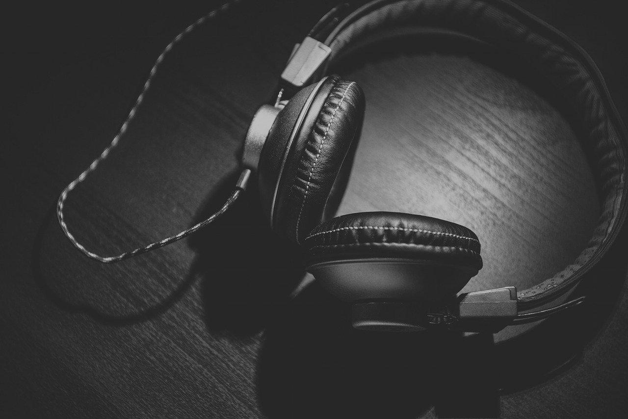 headphones, headset, audio